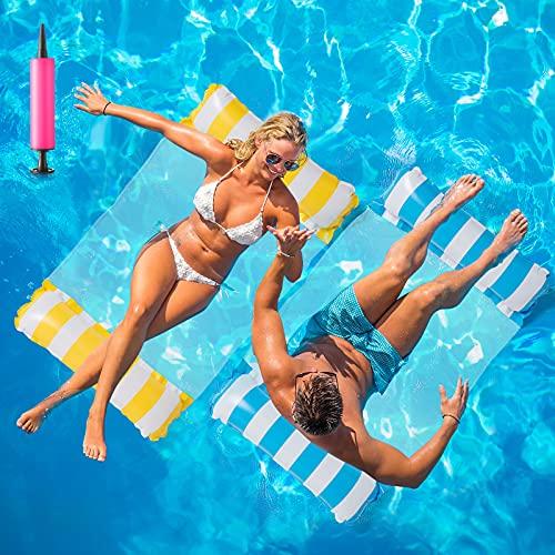 Huarumei 2Stk Luftmatratze Pool, Pool Spielzeug...