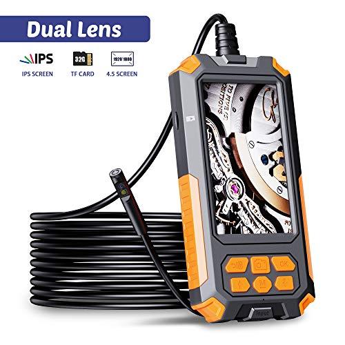 ILIHOME Dual-Kameras Endoskopkamera, Doppelkamera...