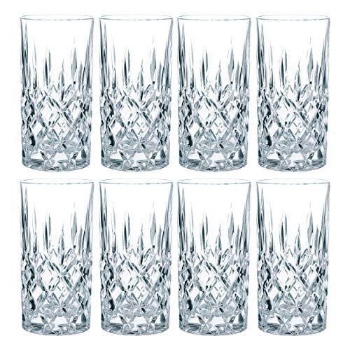 Nachtmann Noblesse Longdrinkglas Set, 8er Set,...