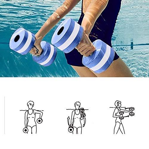 Mayyou Sport-Wasser-Übung Hanteln-Set von...