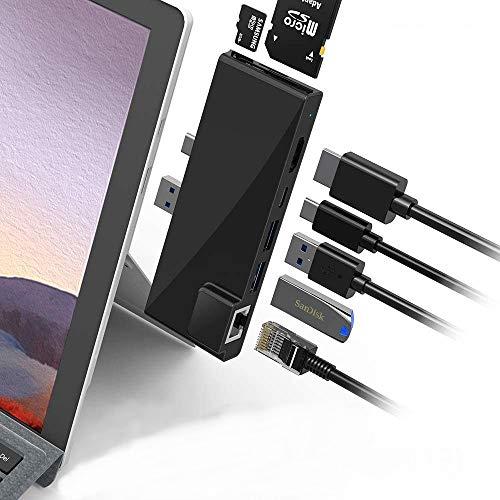 POWER TECHNOLOGIE - Hub Surface Pro 7 Hub USB 3.0...