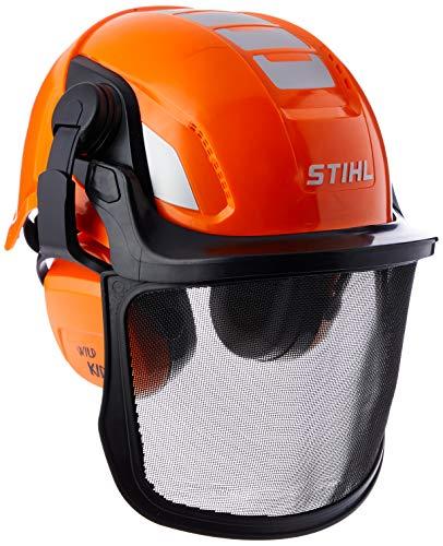 Stihl Unisex Kinder Helmset Spielzeughelm, Orange,...