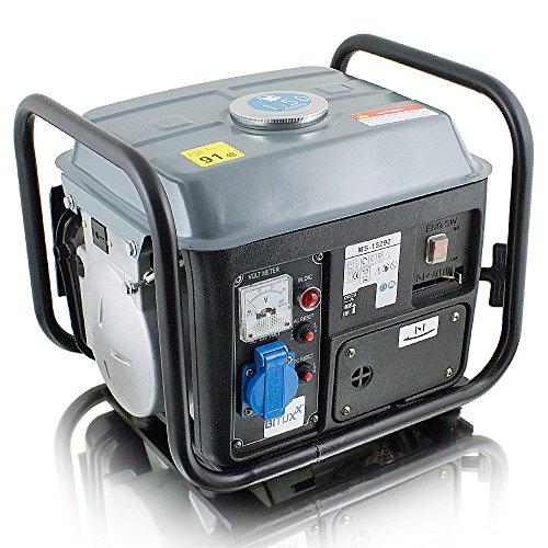 BITUXX® 850W Benzin Notstromaggregat...