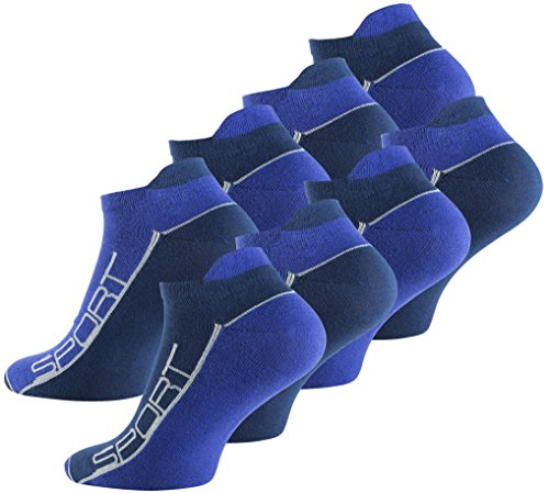 Vincent Creation 8 Paar Sneaker Socken Bi-color...
