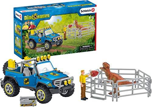 Schleich 41464 Dinosaurs Spielset - Geländewagen...