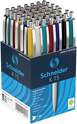 Schneider K15 Kugelschreiber mit blauer Tinte,...