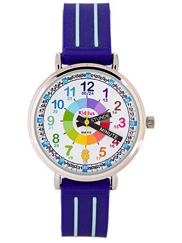 KIDDUS Lern Armbanduhr für Kinder, Jungen und...