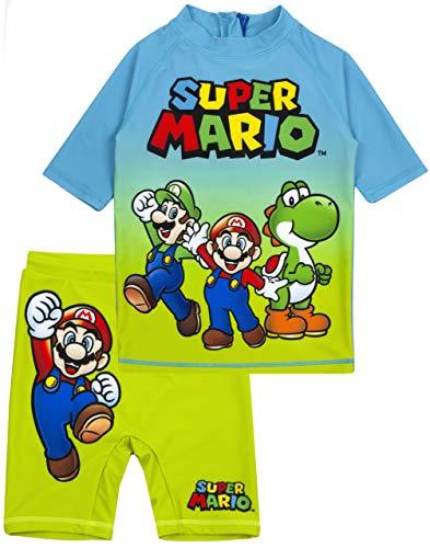 Unbekannt Super Mario Badeanzug Jungen UV50 Sun...