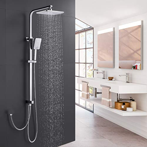 Duschset Duschsystem ohne Armatur, WOOHSE...