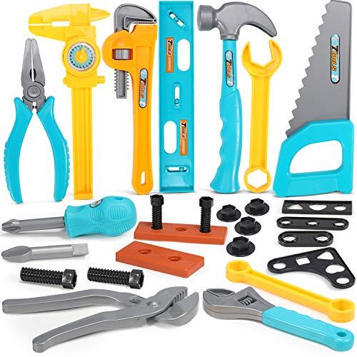 GeyiieTOYS Kinder Werkzeug Kinderwerkzeug...