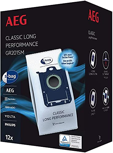 AEG GR201SM s-bag Staubbeutel Classic Long...
