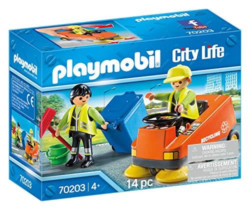 PLAYMOBIL 70203 CITY LIFE Kehrmaschine, ab 4...