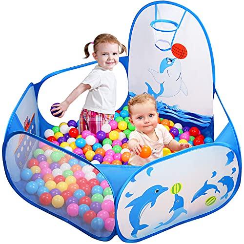 Likorlove Kinder Bällebad, Pop Up Baby Kugelbad...