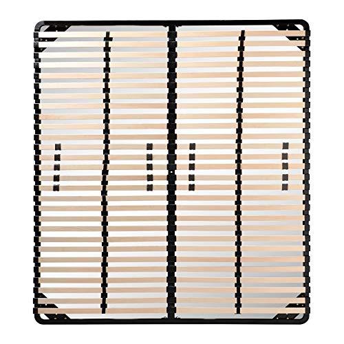 i-flair® Lattenrost 160x200 cm, Lattenrahmen für...