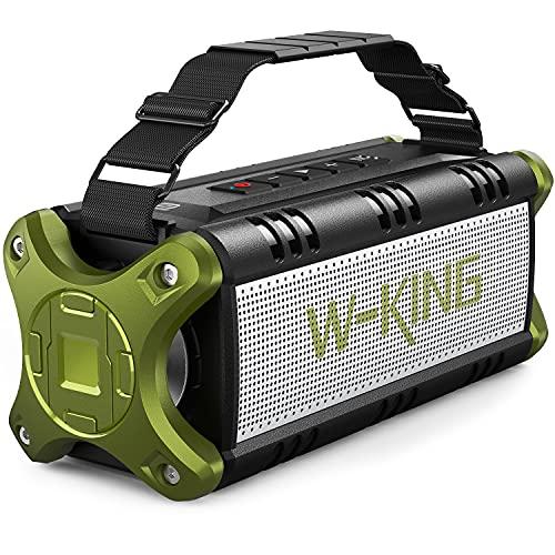 W-KING 50W(70W Gipfel) Bluetooth Lautsprecher IPX6...
