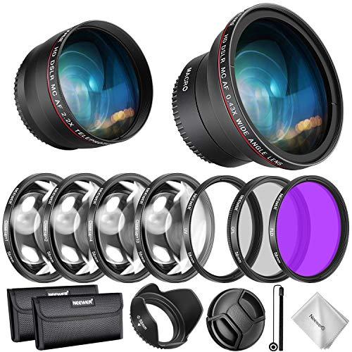 Neewer 58MM Objektiv und Filter Kit für Canon EOS...