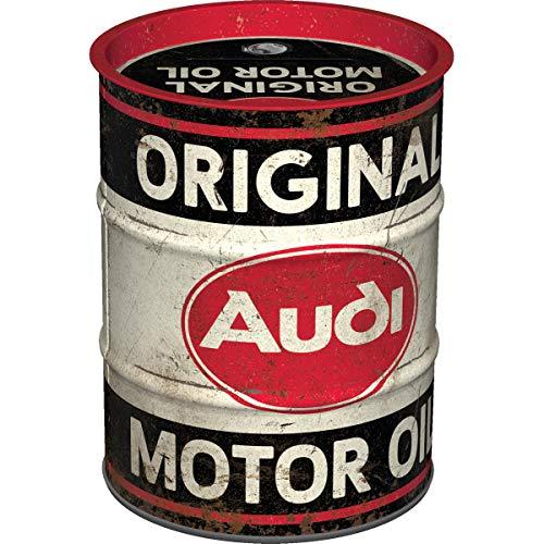 Nostalgic-Art, Retro Spardose, Audi – Motor Oil...