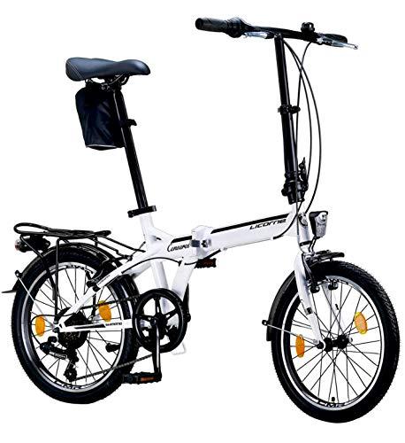 Licorne Bike CONSERES Premium Faltrad, Klapprad in...