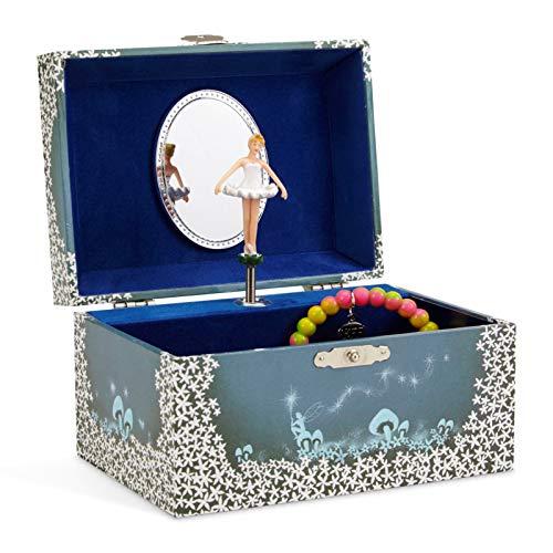 Jewelkeeper - Spieluhr Schmuckkästchen für...