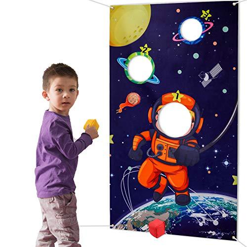 HOWAF Weltraum Sonnensystem Wurfspiele Set für...