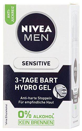 Nivea Men Sensitive 3-Tage Bart Gel, 1er Pack, 1 x...