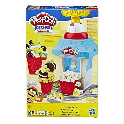 Play-Doh Popcornmaschine mit 6 Dosen Knete, ab 3...