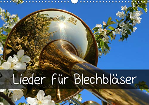 Lieder für Blechbläser (Wandkalender 2021 DIN A3...