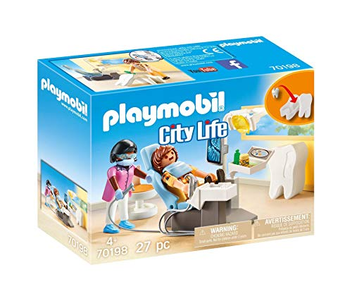 PLAYMOBIL City Life 70198 Beim Facharzt: Zahnarzt,...
