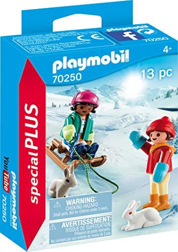 PLAYMOBIL Special Plus 70250 Kinder mit Schlitten,...