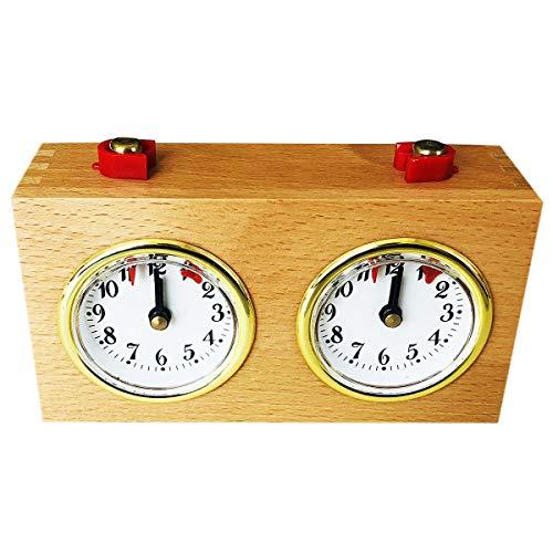 Nrpfell Zeitschaltuhr aus Holz, Spieluhr,...