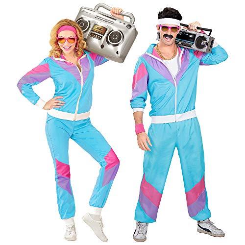 Widmann 98873 - Kostüm 80er Jahre Trainingsanzug,...