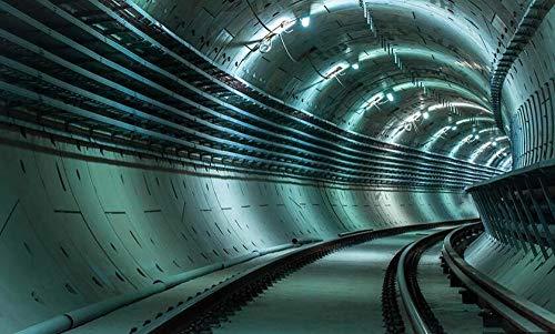 3D Erweiterung Tunnel Hintergrundwand-150 * 105cm