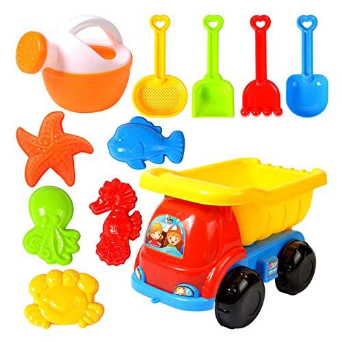 Wood.L Sandspielzeug Junge Set, Strandspielzeug...
