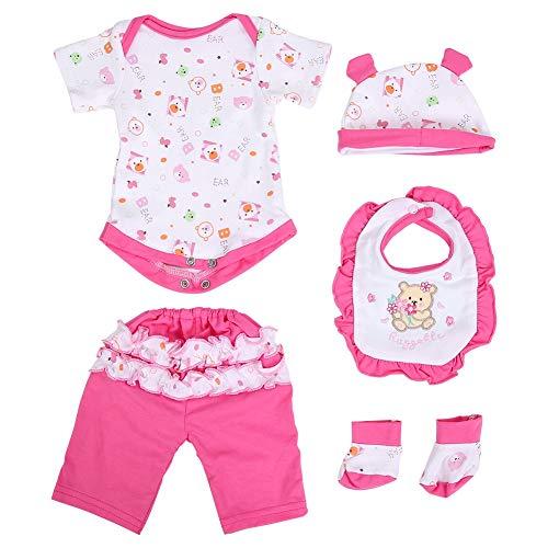 Zerodis Baby Simulation Puppe Kleidung Schöne...