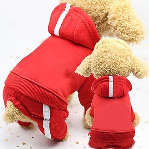 Qiuge 2 stücke Pet Fleece Hundekleidung,...