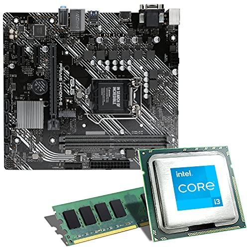 Intel Core i3-10100F / ASUS Prime H410M-E...