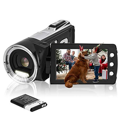 HG8162 Digitale Videokamera 1080P FHD Camcorder...
