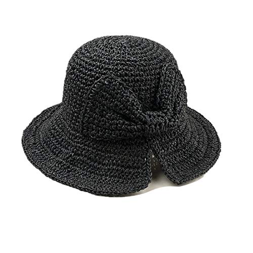 DOLDOA Hut Damen Sommer,Stroh Sommer Hüte Frauen...