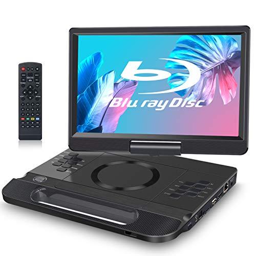 FANGOR 12 Zoll tragbarer Blu-ray DVD Player mit um...