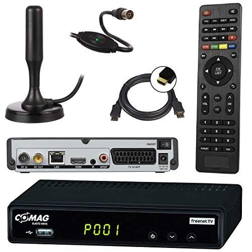netshop 25 Set: Comag SL65T2 DVB-T2 Receiver (Mit...