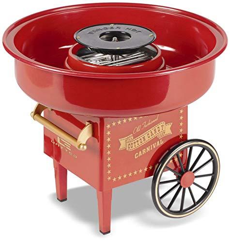 mikamax - Zuckerwattemaschine - Rot - Cotton Candy...