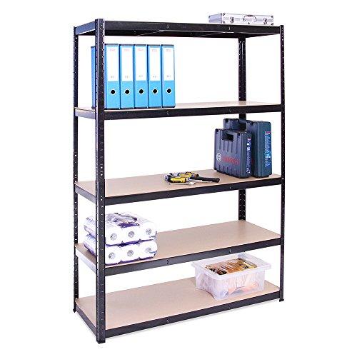 Lagerregal für Garage: 180 cm x 120 cm x 45 cm |...