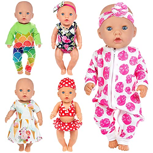 ZITA ELEMENT 5 Set Puppenkleidung Bekleidung...