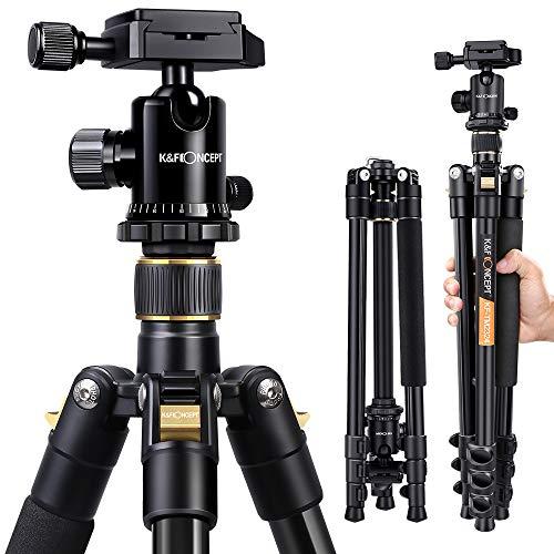 K&F Concept® TM2324 Kamerastativ Reisestativ...