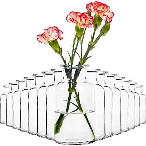 15x Vasen Dekoflasche (13cm) Vase Set Väschen...