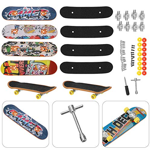 VORCOOL Finger Skateboard Kreative DIY Montage...