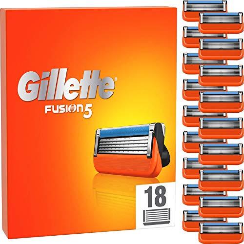 Gillette Fusion 5 Rasierklingen für Männer, 18...