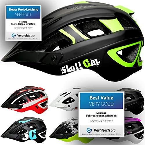 Skullcap Unisex Fahrradhelm MTB Mountainbike Helm,...