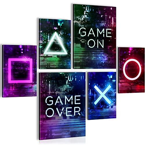 Bilder Spielkonsole Gamer - STYLISCH, KEIN RAHMEN...