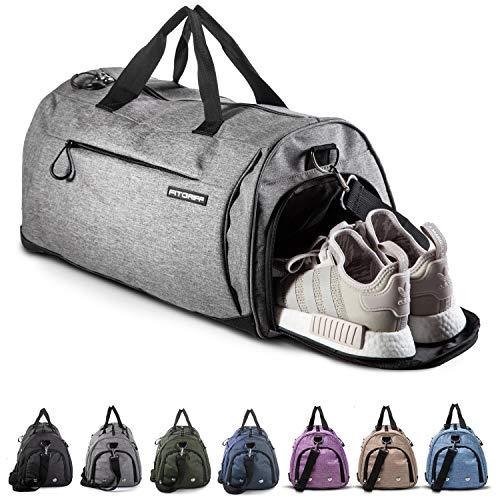 Fitgriff® Sporttasche Reisetasche mit Schuhfach &...